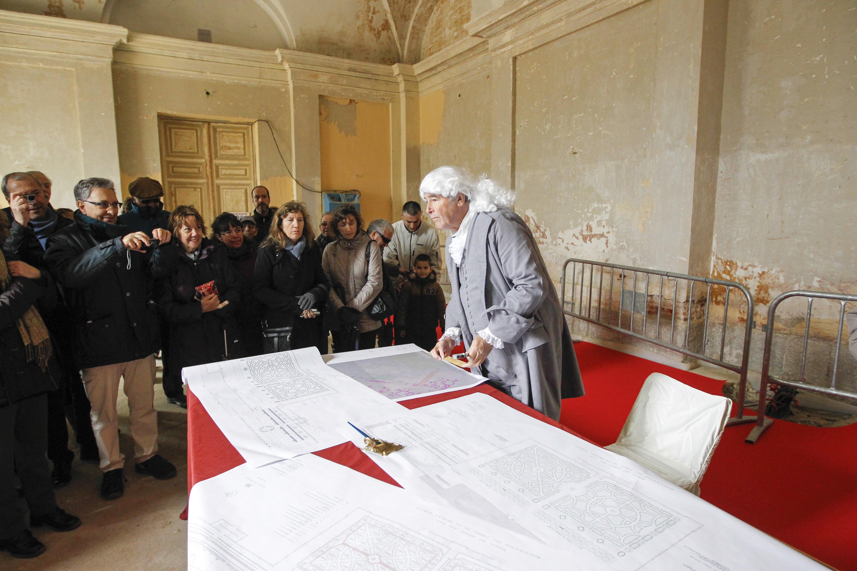 Visita teatralizada Palacio Infante Don Luis (5)