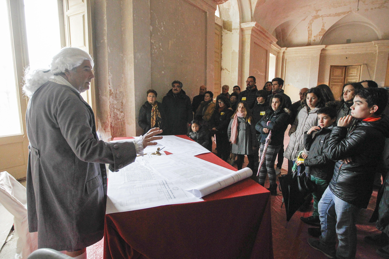 Visita teatralizada Palacio Infante Don Luis (9)