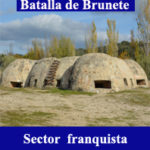 Batalla de Brunete sector franquista