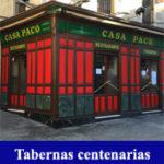 Visita guiada tabernas centenarias de Madrid