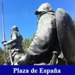 Juego de pitas Plaza de España infantil
